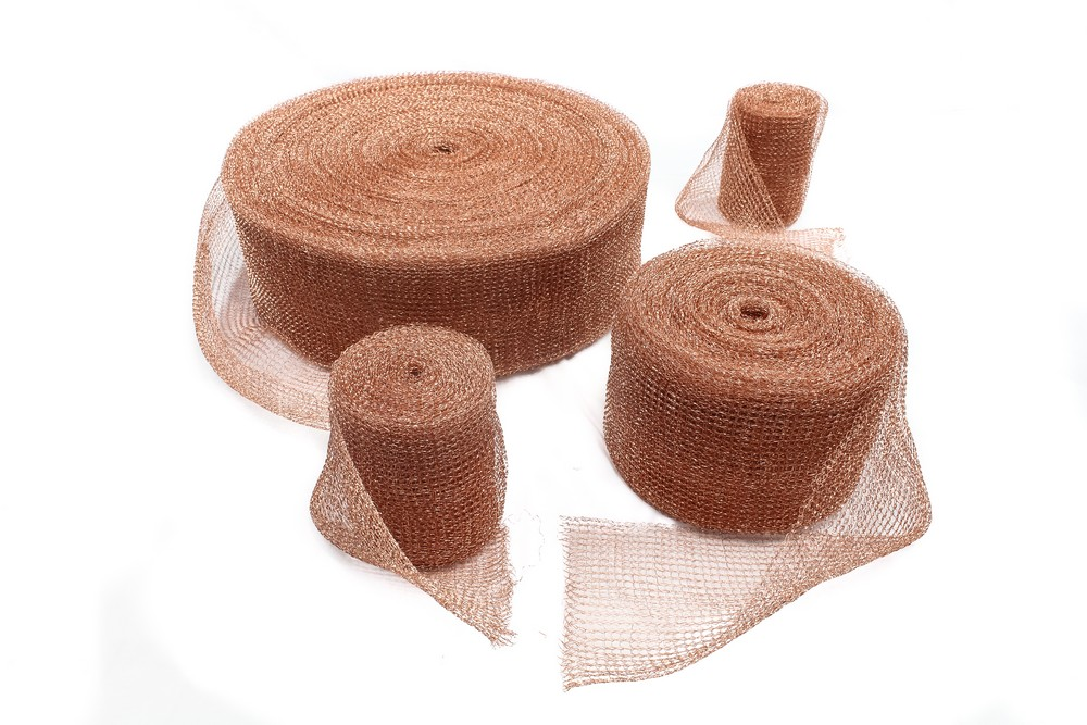 Knitting Household Items : Micro wire products knitted copper mesh